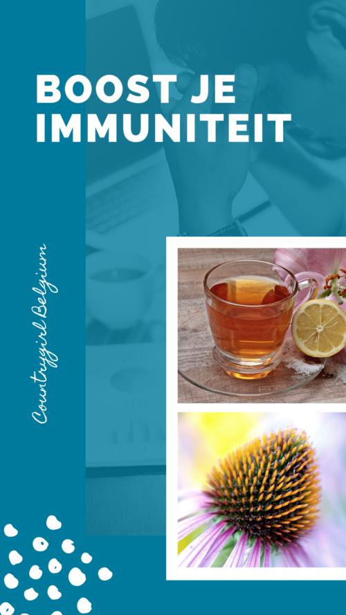 Boost je immuniteit …